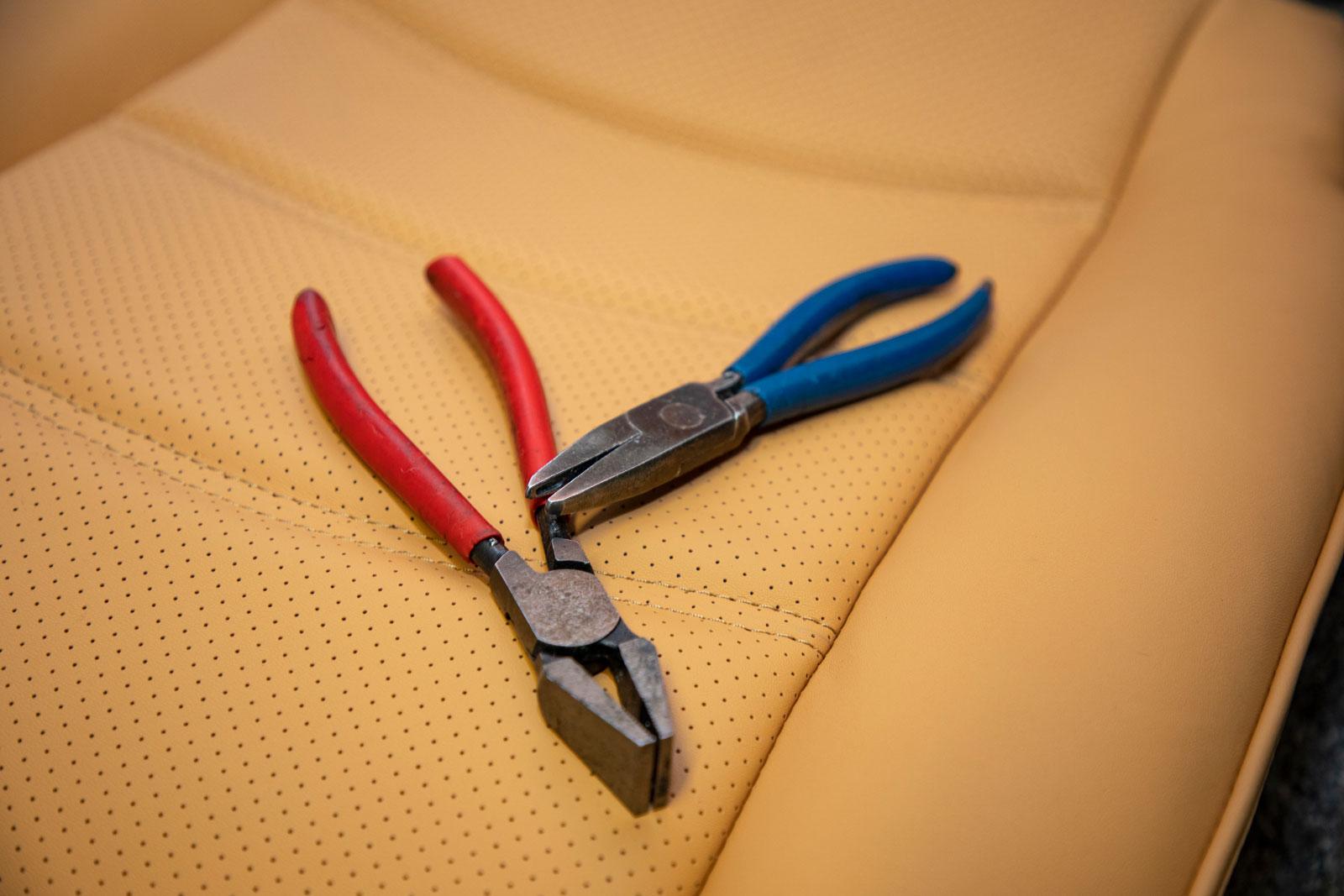 Sattlerei K.M. Lederdesign • sitz beige • sattlerei • autositze-beziehen